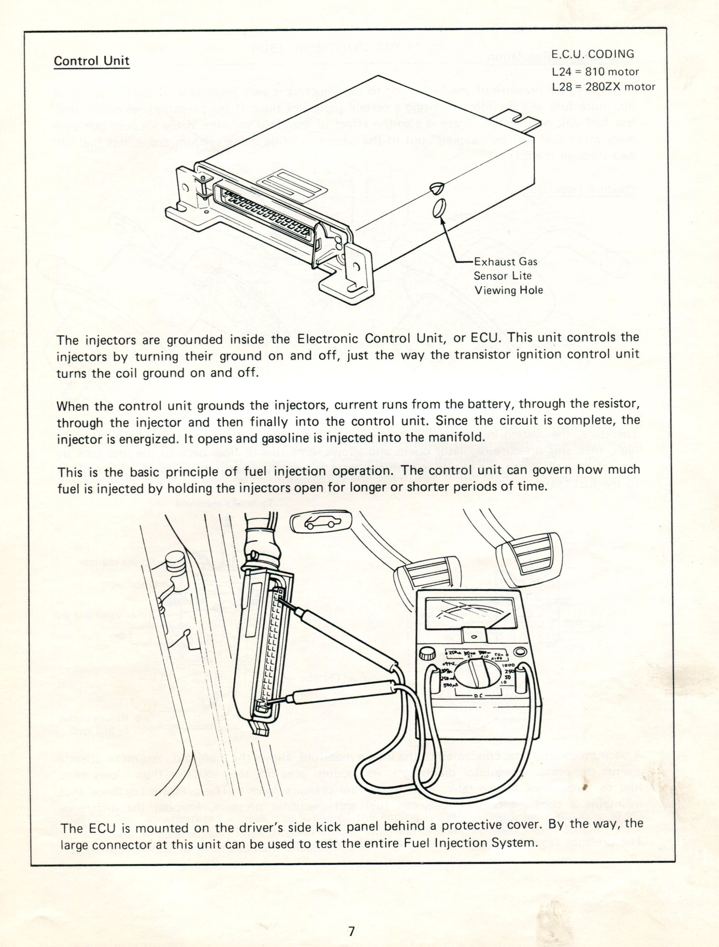 Datsun Fuel Injection on Bluebird Wiring Diagrams