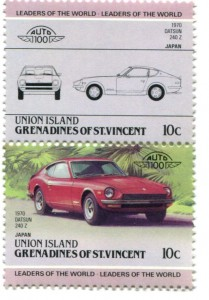 Datsun postage stamps?