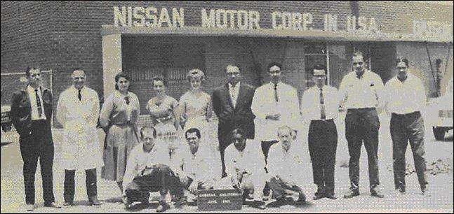 Nissan USA 1963