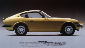 Datsun 240Z Sport 1971 FSM Supplement