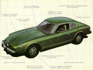 1976 Datsun 280Z sales brochure