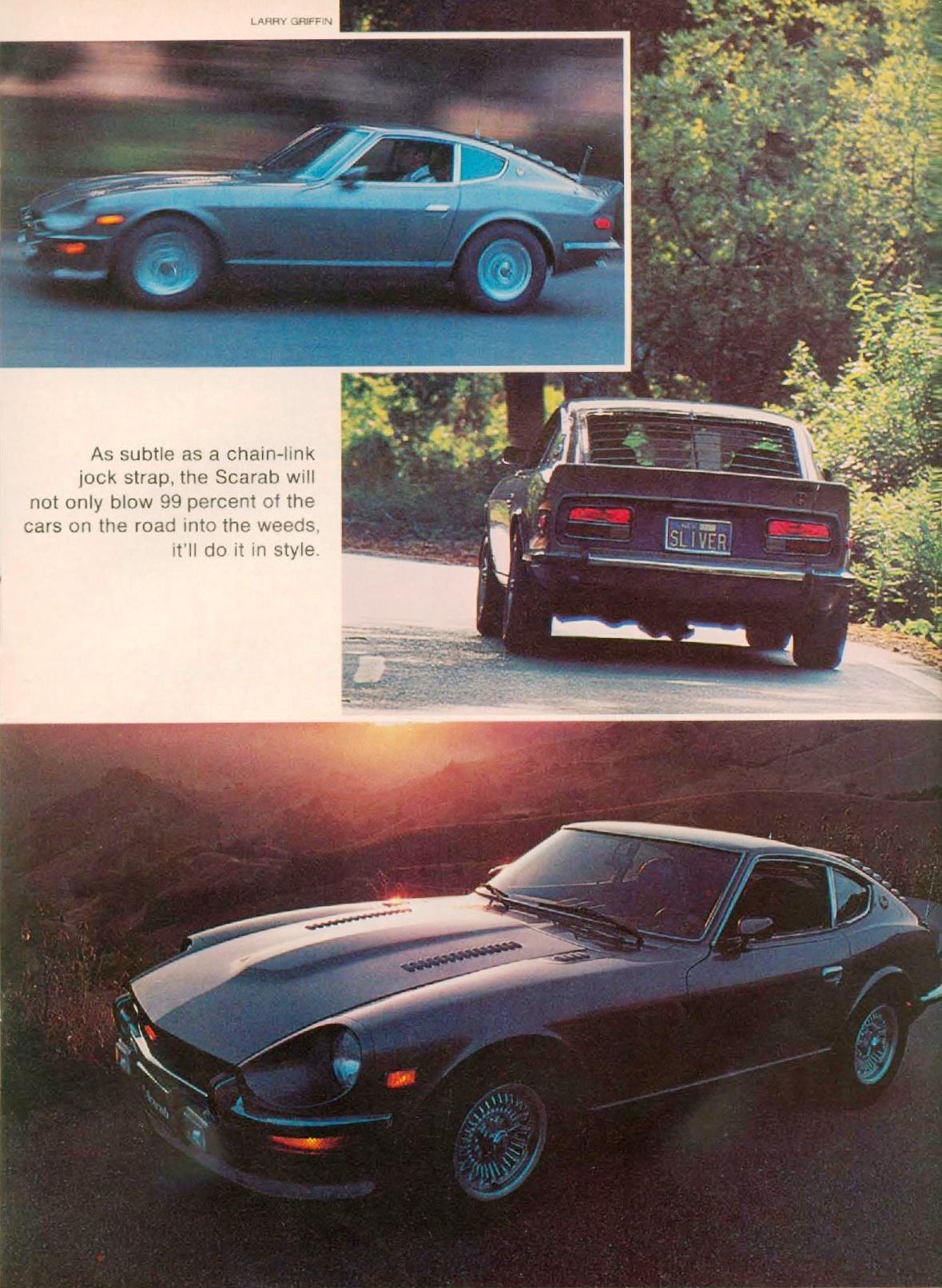 The Scarab legend - The original hybrid Datsun Z