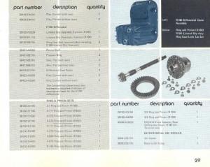 Datsun Competition Parts Catalog 1976 – Part 2