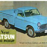 1963 Datsun Pickup Truck Dealer Brochure