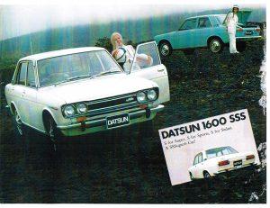 1968 Datsun 1600 SSS Export Market Brochure