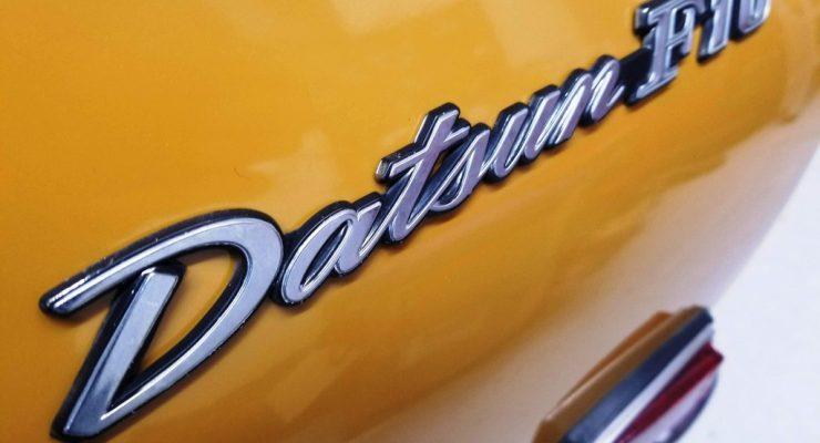 A 1976 Datsun F10 Graces Datsun Ranch for the Winter